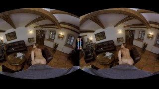 Sexbabesvr - The Ranch Affair Stripping teasing