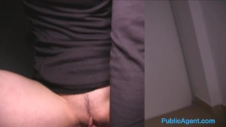 Public Agent French tourist fucked in public stairwell  sex for money sex for cash glasses trimmed-pussy big-tits outdoors outside point-of-view amateur cumshot public fake-tits real camcorder publicagent sex with stranger