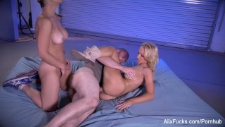 Monster hills sarah from fuck the a and satanic alix big load