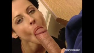 Private.com - Michelle Wild in an orgy with DP