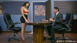 Valentina Nappi gets a hardcore office fucking - Brazzers
