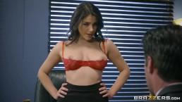 Valentina Nappi gets a hardcore office fucking - Brazzers