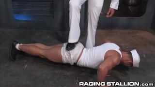 Ragingstallion by daddy hot sailor officer disciplined sex gay