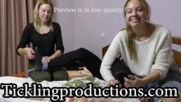 Tickling Nastia S part 4 - * 2 Girls on 2 FEET's * - clip is 7:17 min long