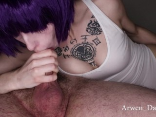 Ghost in the Shell Motoko Kusanagi Blowjob