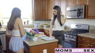 Step-Mom India Summer Caught With Teens Boyfriend  cheating-wife riding babe big-cock threeway mom momsteachsex step-daughter skinny brunette reverse-cowgirl mother small-tits big-dick teenager facial adria rae hot mom