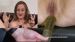 Giggling Orgasm Enema Part 1