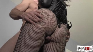 Juliette March Seduces You into a Bi Threesome with Lance Hart  bisexual kink butt fishnets juliette march big booty lance hart sensual femdom sweetfemdom suck his dick for me encouraged bi pre cum