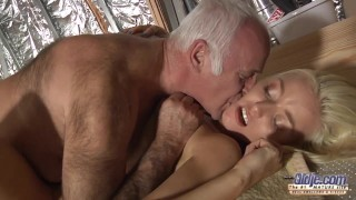 Horny assistent fucked by old man i..