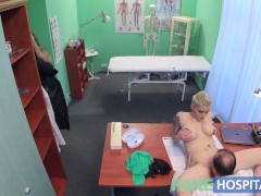 Fake Hospital Flirty tattooed minx de...
