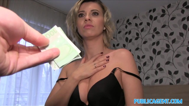 Short blonde hair pussy Public agent cheating wife with short blonde hair fucks for cash