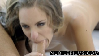 NubileFilms - Big Cock Fucks Kimmy Granger Raw Reverse nice