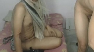 Having couple sex tranny hardcore anal made shemale