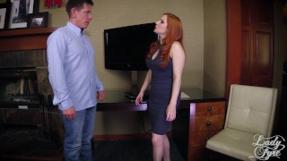 Horny Boss Makes Employee Eat ASS then Fucks him. FULL VIDEO Lady Fyre redhead pussy eating boss domination ass worship milf heels kink mom office olivia fyre ass eating mother lady fyre laz fyre butt