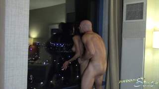 Johnny Sins Fucks Chloe Amour in Hotel Booty Call Blowjob brunette