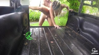 Kissa Sins and Johnny Sins Jeep Rain Fuck  car sex outdoor sex big booty point of view outdoor raining big cock italian brazilian family russian blonde brazzers big dick hardcore butt braids raining