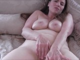 Sexy MILF Nikki All Alone and Masturbating This Morning