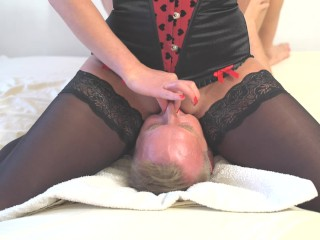British Mom Porn Movies Amazing squirt on mouth. Face sitting and awesone pussy riding