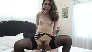 Riley Reid getting fucked by big white cock Sensual pussy