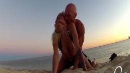Public Beach Sex! Johnny Sins