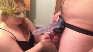 I finally let my husband fuck me (with a strapon) orgasm denial fleshlight handjob fleshlight cock cage femdom femdom orgasm denial amateur couple chastity femdom strap on amateur femdom tease and denial orgasm control chastity mistress pegging adult toys femdom cuckold
