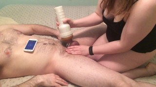 I finally let my husband fuck me (with a strapon)  femdom orgasm denial tease and denial strap on orgasm denial amateur femdom femdom cuckold fleshlight chastity femdom chastity femdom orgasm control amateur couple mistress pegging adult toys fleshlight handjob cock cage