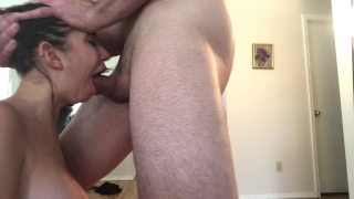 Teen Gets rough gagging, spitting, crying, facefuck by Hoby Buchanon Big of