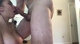 Teen Gets rough gagging, spitting, crying, facefuck by Hoby Buchanon