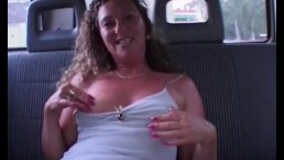 Blonde Mature Hitching A Ride Gets Fucked