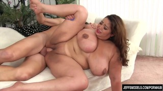 Giant boobed thick asian takes cock  fat ass vaginal sex chunky bbw asian blowjob chubby hardcore jeffsmodels miss lingling big boobs big naturaltits titty fuck