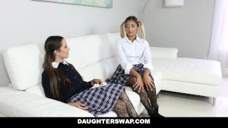 DaughterSwap - Collection Of Hot Teens Fucking Horny Dads  teens fucks dads dad fucks daughter cumshot orgy teamskeet hardcore taboo daughter father group-sex compilation group facial dads daughterswap collection