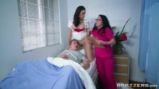 Brazzers - Nurses Chanel and Veruca share big dick