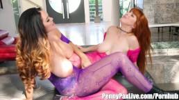 Hottest Big Boobs Lesbians Alison Tyler & Penny Pax!