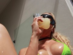 SECRETCRUSH – Squirting & Fucking My Tight Little Holes Covered In Oil