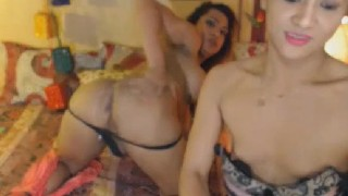 And on cam hard strip off shemale jerk two dick transsexual