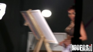 Artist big gets fucked with boobs mofos babe redhead