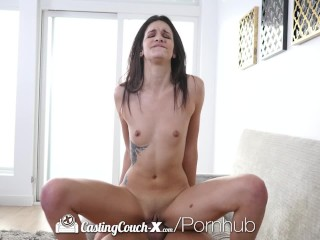 Atlanta hip hop sex tape castingcouch-x amateur eden sin has her pussy fucked by agent castingco