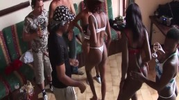 Hot African Sex Party Orgy