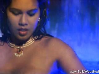 Indian Princess In Water