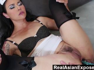 RealAsianExposed – Dana Vespoli really wants her butt hole taken care of