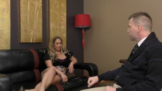 Preview 1 of Eva Notty turns her Psychologist into her bitch - Ass Worship
