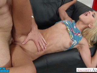 Rawtube Xxx Free Uma Jolie fucks her friend s brother near stripper pole - Naughty America