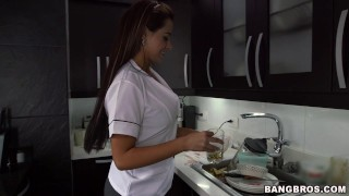 Big Booty Latina Maid Sofia Drops It Like It's Hot (mda13396)  my dirty maid ass bangbros big-tits maid big-ass blowjob house-keeper milf big-butt mydirtymaid butt latina latin sofia housekeeper