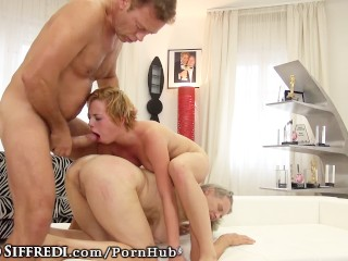 Rocco Siffredi gets Nasty With Teen and Granny!