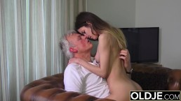 54 year old milf gets a 19 yo boy as a birthday present 7