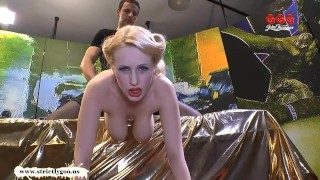 Angel Wicky big Natural Tits cum covered German Goo Girls