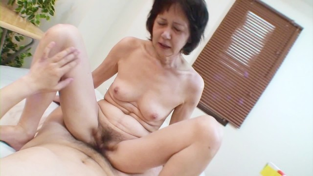 Shy Japanese Grandma Gets Toys And Cock In Her Old Pussy -5914