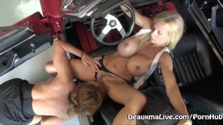 Mechanic Deauxma Fucks Her Customer for Repairs!