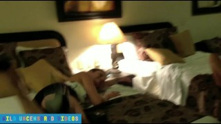 Preview 1 of Vacation Threesome With Step Brother