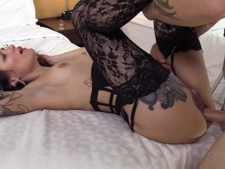 ExCoGi has Luna Lovely's First Porn Video